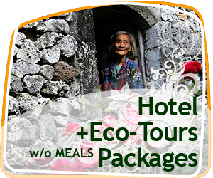 Hotel + Eco-Tours (w/o meals) Packages